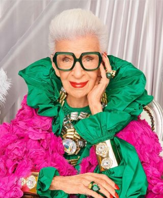 This absolute fashionista turned 100 today 🥳 🎂 Iris is the ultimate style icon and would you believe that she signed a 4 year modeling contract at the age of 97!! She is living proof that age is just a number. Iris says the secret to a youthful life is equal parts passion and drive….exactly what SJ&Co put into everything we do. Happy Birthday legendary lady, we can't wait to see what you have in store for us next 🥰❤️