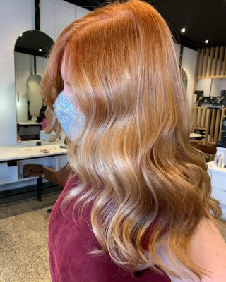 First day back and we can't get enough of creating colour changes like this! All the inspiration was from Nicole Kidman's hair colour. We wanted the colour to be bold but scream volume! Is this a colour you have been dreaming about trying? Let's make it happen! 💥 Hair coloured and styled by @jason_sjandco #sjandcoau #sjandco #copperhair #hairgoals #lorealpro #melbournehairdresser #northcote #strawberryblondehair #balayagehighlights