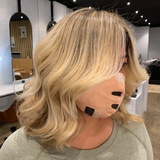 Would you believe us if we told you that the beautiful Christlyn naturally has black hair! In the past she has gone for a full scalp bleech and loves the bright blonde. We have worked with a soft root stretch technique to allow for lower maintenance. Absolutely loving this Bronde balayage blend. Hair coloured and styled by @jason_sjandco #sjandcoau #sjandco #melbournehairdresser #hairgoals #sjandcobalayage #northcote